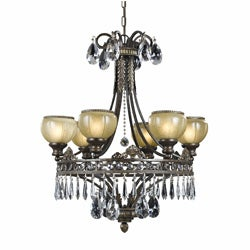 Triarch International LeGrandeur 6-light English Bronze Chandelier