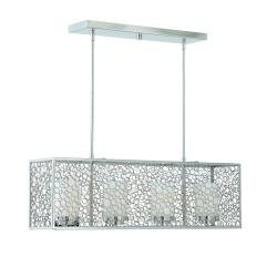 Triarch International Contemporary 4-light Chrome Island Light