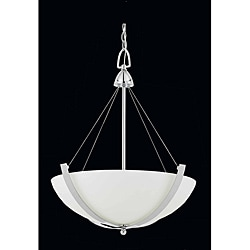 Triarch International Neptune 3-Light Chrome Pendant