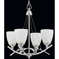 Triarch International Neptune 4-Light Chrome Chandelier