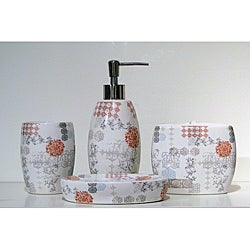 Sienna 4-piece Bath Accessory Set