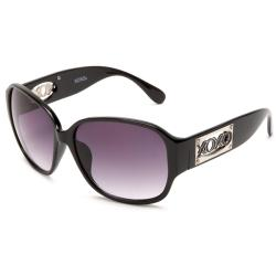 XOXO Women's 'Genesis Black' Fashion Sunglasses