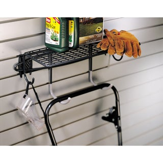 Organized Living freedomRail Granite Shelf with Hooks