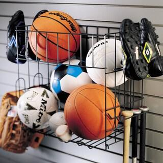 Organized Living freedomRail Granite Sports Rack with Basket