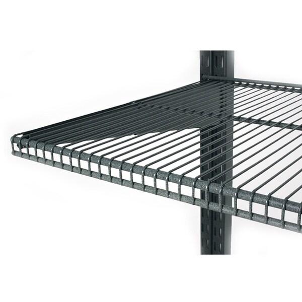 Organized Living freedomRail 60-inch Granite Ventilated Shelf