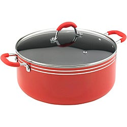 Vinaroz Verona Series Red 3-Quart Casserole Pot