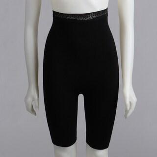 Magic Curves High-waist Long Leg Black Body-shaper