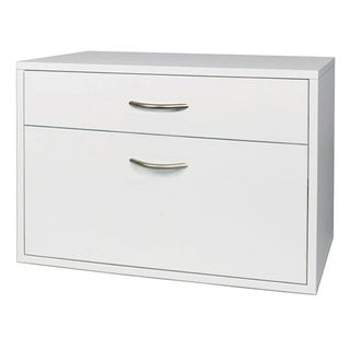 Organized Living freedomRail O-Box White Hanging File