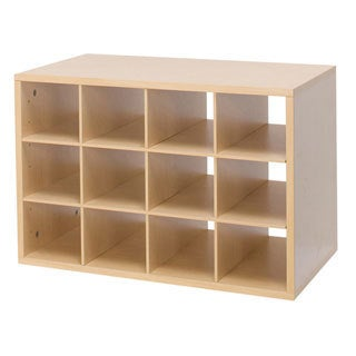 Organized Living freedomRail O-Box Cubby in Maple