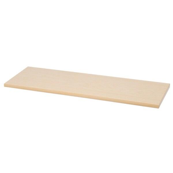 Organized Living freedomRail Maple-Wood Shelf (48-Inch x 14-Inch)