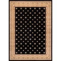Hudson Terrace Black Area Rug (7'10 x 9'10)