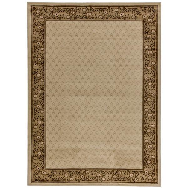Terrazzo Ivory Area Rug (7'10 x 9'10)