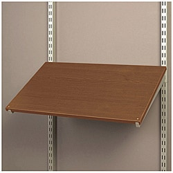 Organized Living freedomRail Chocolate Pear 24-inch Pre-Drilled Shoe Shelf