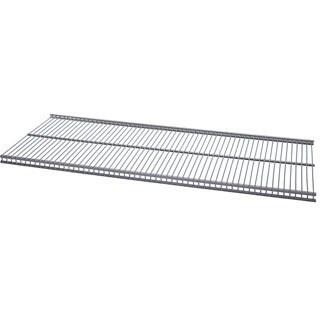 Organized Living freedomRail Nickel Ventilated Shelf (48 x 16)