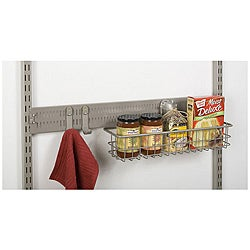Organized Living freedomRail Nickel 30-inch Spanner