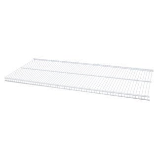 Organized Living freedomRail White Ventilated Shelf (48 x 16)