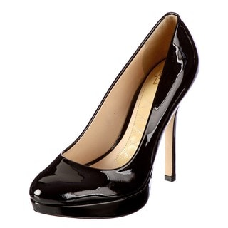 Joan & David Women's 'Flipp' Black Patent Pumps