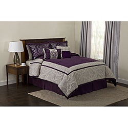 Lush Decor Grey Delila 6-piece Comforter Set
