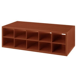 Organized Living freedomRail Cherry 'Big-O-Box' Cubby