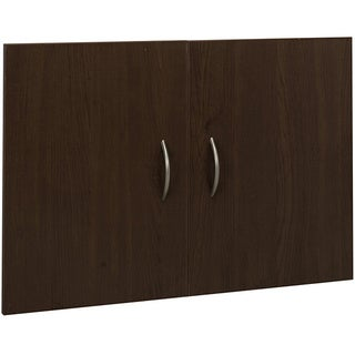 Organized Living freedomRail Chocolate Pear 'Big O-Box' Cabinet Door Set