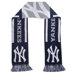 New York Yankees Acrylic MLB 65-inch Scarf with Four-inch Frayed Ends