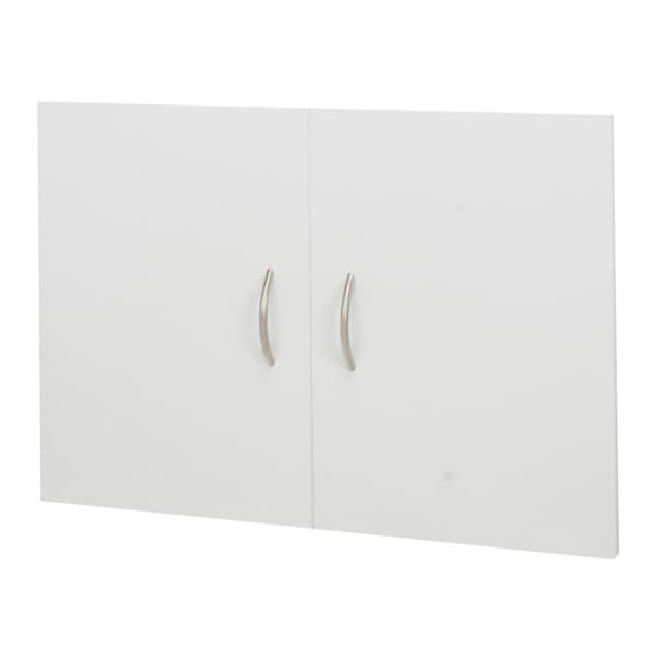 Organized Living freedomRail White 'Big-O-Box' Cabinet Door Set