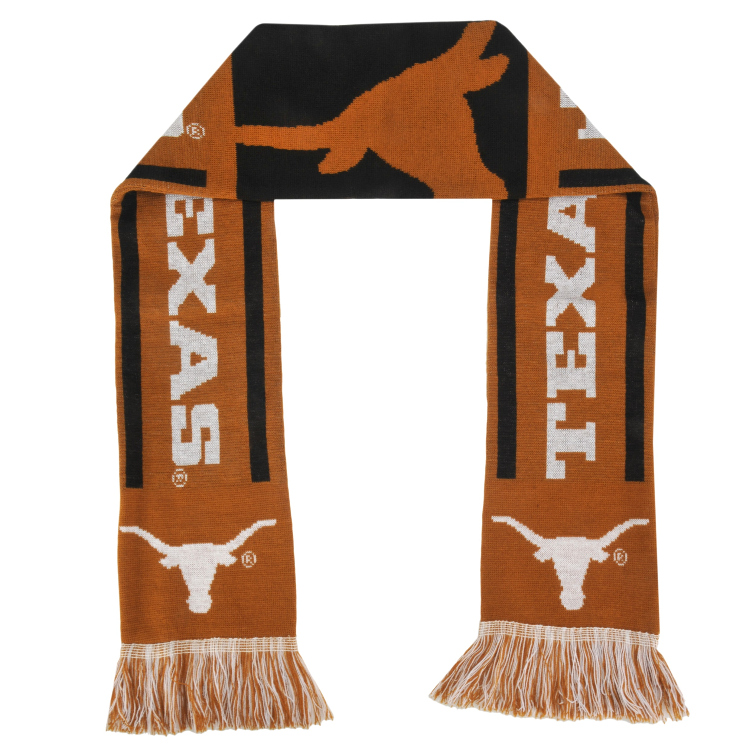 Forever Collectibles Texas Longhorns Acrylic NCAA Scarf