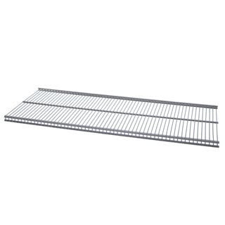 Organized Living freedomRail Nickel Ventilated Shelf (24 x 16)