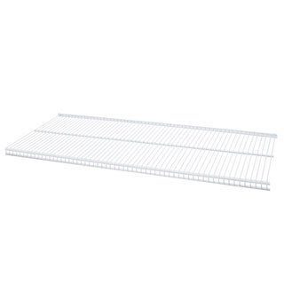 Organized Living freedomRail White Ventilated Shelf (24 x 16)