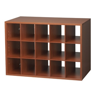 Organized Living freedomRail Cherry 'Big O-Box' Cubby
