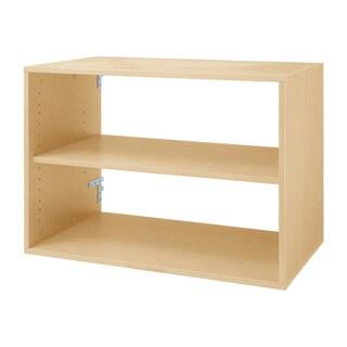 Organized Living freedomRail Maple 'Big O-Box' Shelf Unit