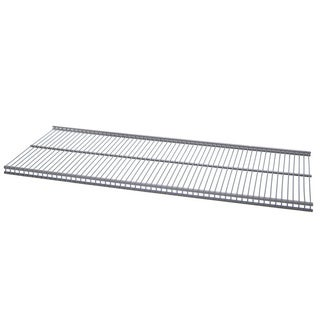Organized Living freedomRail Nickel Ventilated Shelf (48 x 12)