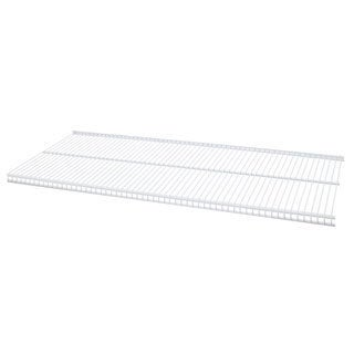 Organized Living freedomRail White Ventilated Shelf (48 x 12)