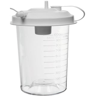 Suction Pump Reusable Lidded Collection Jar