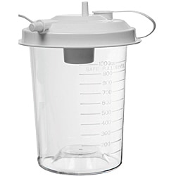 Suction Pump Reusable Lidded Collection Jar