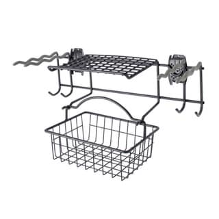 Organized Living freedomRail Granite Garden Rack with Basket