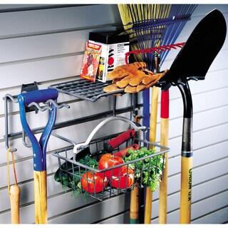 Organized Living freedomRail Granite Garden Rack with Basket