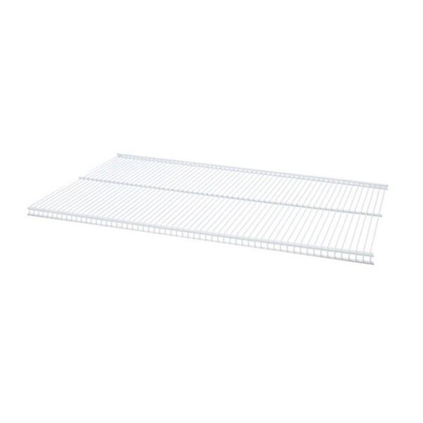 Organized Living freedomRail White Ventilated Shelf (36 x 12)