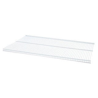 Organized Living freedomRail White Ventilated Shelf (36 x 12)