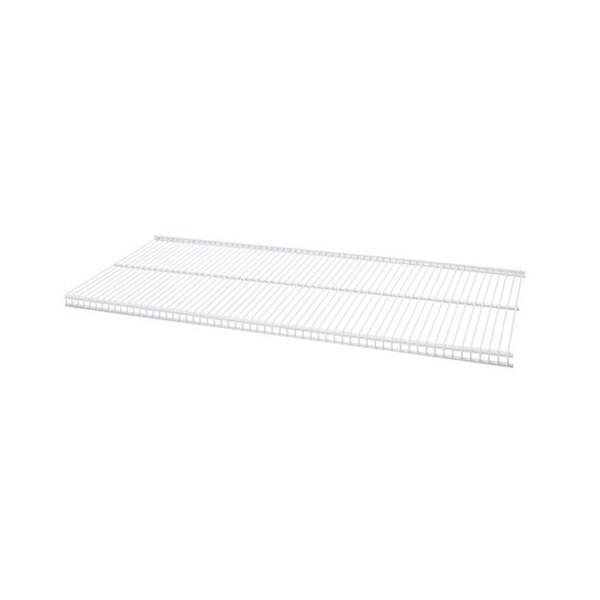 Organized Living freedomRail White Ventilated Shelf (30 x 12)