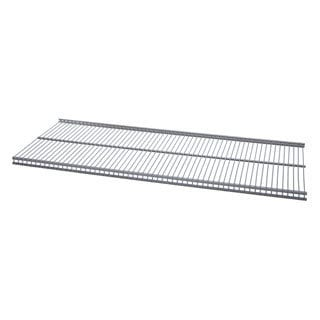 Organized Living freedomRail Nickel Ventilated Shelf (24 x 12)