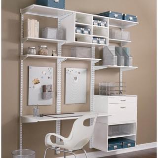 Organized Living freedomRail 8.5-inch White Wood Bracket