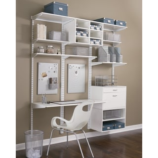 Organized Living freedomRail 64-inch White Rail