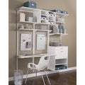 Organized Living freedomRail 30-inch White Rail