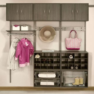 Organized Living freedomRail 24-inch Nickel Rail