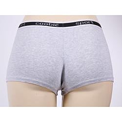 Coobie Intimates Athletic Grey Boyshort