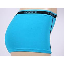 Coobie Intimates Athletic Teal Boyshort