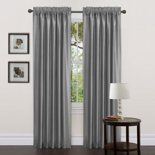 Lush Decor Gray Delila 84-inch Curtain Panels (Set of 2)