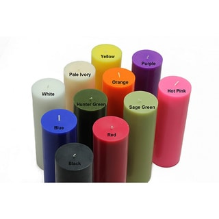 3x9 Inch Pillar Candles (Case of 12)