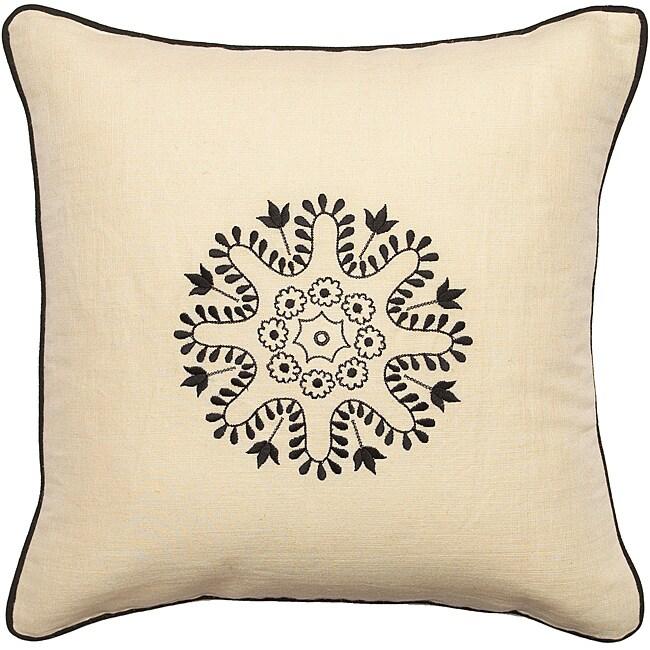 "Decorative Bunbury Down Filled 18"" Throw Pillow"